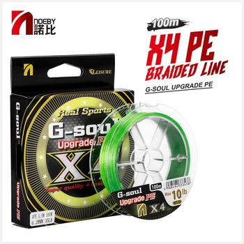ilure 100m 12 16 braided fishing line pe strong multifilament fishing line carp fishing saltwater NOEBY Leisure 4 Braided Fishing Line 100m 7-80lb Wire Multifilament PE Line Snood for Carp Trout Tackle Braided Fishing Line