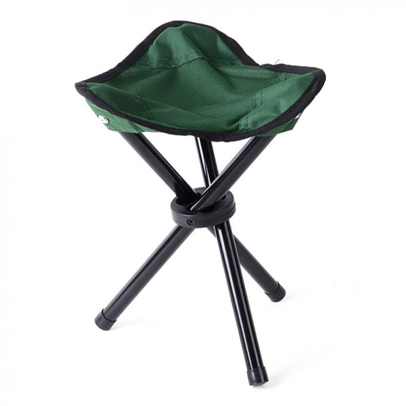 Outdoor Fish Chair Portable Tripod Stool Folding Chair Camping Walking Picn.hc