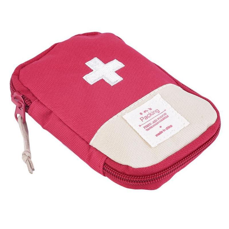Наружная аптечка первой помощи, аптечка для лекарственных  средств, коробка для таблеток, домашний набор для выживания в  автомобиле, маленький чехол 600D ОксфордАварийные наборы   -
