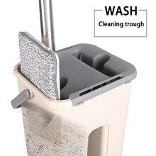 Mopa con cubo para lavar pisos, limpieza de relámpago, ofrece limpieza de fregonas, limpieza de fregonas, limpieza de casa, tienda Wonderlife perezosa