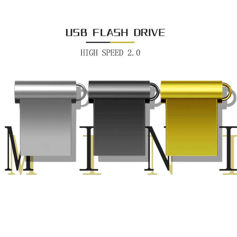 スーパーミニ金属 usb フラッシュドライブ 32 ギガバイト 16 ギガバイト 8 ギガバイト 4 ギガバイトメモリア usb 64 ギガバイト 128 ギガバイトペンドライブペンドライブ読み取り容量 cle usb 2.0 スティック