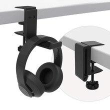 אוניברסלי אלומיניום סגסוגת אוזניות אוזניות מחזיק קולב בקלות נשיאה מתכווננת מתקפל קל משקל אוזניות חלק