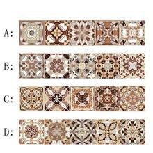 Стикеры для плитки винтажные фотообои самоклеящиеся декора лестницы