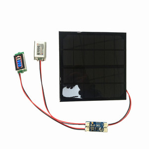Image 1 - 6V 3W 9V 2W 12V 2W 3W Solar panel with Solar min battery charger with battery display DIY KIT PH 2.0 Cable