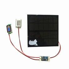 6V 3W 9V 2W 12V 2W 3W עם שמש דקות סוללה מטען עם סוללה תצוגת DIY ערכת PH 2.0 כבל