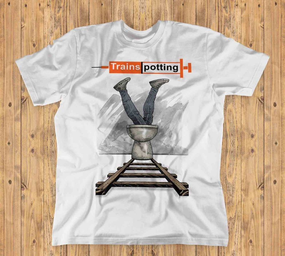 Trainspotting Unisex T-Shirt | Ireland Cult Movie New 2019 Summer Style Man Print Hipster Cotton Tops Tees Shirt image