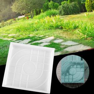 DIY Paving Mould Home Garden Path Reusable Concrete Cover Square Shape Road Mold for Sidewalks Trails Terraces Picnic(China)