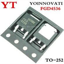 100 pçs/lote FGD4536 4536 TO 252 IC melhor qualidade.