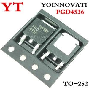 Image 1 - 100pcs/lot FGD4536 4536 TO 252 IC best quality.