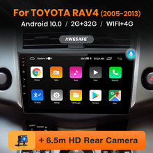 Awesafe PX9 Voor Toyota RAV4 Rav 4 2005 - 2013 Auto Radio Multimedia Video Player Navigatie Gps Geen 2 Din 2din Dvd Android 10