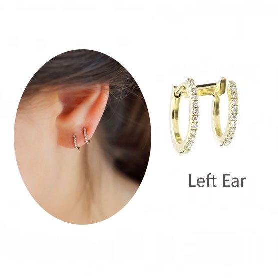 LEFT GOLD EARRING