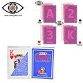 Modiano cartas Marcadas para Infravermelho lentes de contato, Italiano luminosa anti cheat poker MODIANO, truques de mágica de decks