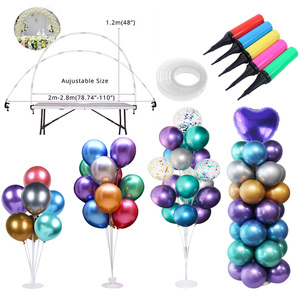 Ballons Accessories Balloons Stand Holder Column Stick Balloon Arch Baloon Chain Birthday Baby shower Wedding Party Supplies