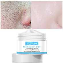 Pore Shrinking Cream Hyaluronic Acid Pores Treatment Relieve Dryness Oil-Control Firming Moisturizing Repairing Smooth Skin Care