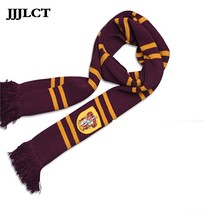 2019 Fashion Scarf Gryffindor/slytherin/hufflepuff/ravenclaw Scarves Cosplay Costumes Halloween Christmas New Year Gift Children(China)