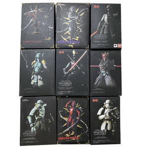 Akazonae-Figure-Toy Vader Darth Maul Samurai Star-Wars Boba Ashigaru Taisho Teppo Koutetsu