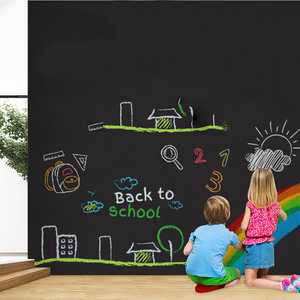 200X60 Whiteboard Sticker White Board Self-adhesive Writing Memo Board Removable Wall Decal For Office School Home Wall Sticker