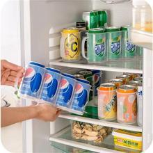 Plastic Beer Soda Can Storage Holder for Drink Box Refrigerator Fridge Organizer Rack Kitchen Space Saver Holders