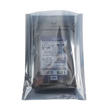 Open Top Gray Transparent Electronic Accessories Shielding Anti Static Package Bags Computer Accessory Packaging Antistatic Bag