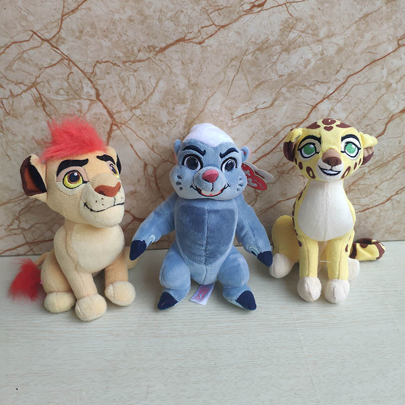 The Lion Guard Plush Toy 15CM KION FULI Cheetah BUNGA Beshte Hippo Babies Stuffed Animal Children Toy Soft Hot Sale