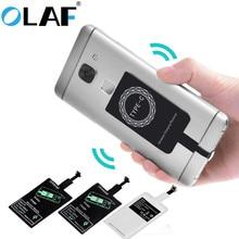 OLAF kablosuz şarj cihazı evrensel Qi kablosuz şarj adaptörü alıcı modülü iPhone X 6 7 8 artı Samsung S7 S8 kenar not 8