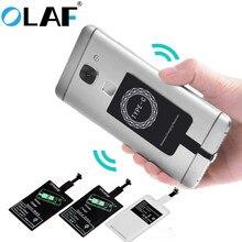 Модуль беспроводного зарядного устройства OLAF, универсальный переходник для Qi зарядки для iPhone X 6 7 8 Plus Samsung S7 S8 Edge Note 8, ресивер