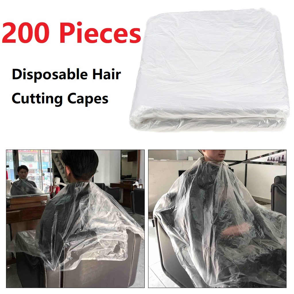 200x impermeavel descartavel corte cabelo cabos 01