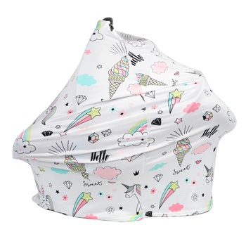 цена на Gloriou Source Nursing Cover Baby Shopping Chart Cover Multifunctional Breastfeeding Baby Nursing Car Seat Cover