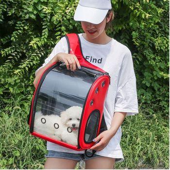 THINKTHENDO astronauta kapsułka oddychający kot domowy plecak podróżny szczeniak z kosmiczną przezroczystą poduszką Vision torby na zakupy tanie i dobre opinie POLIESTER CN (pochodzenie) wytłoczone Unisex Miękka osłona 20-35 litrów Twardy uchwyt Plecaki NONE zipper Sitaka z żywicy