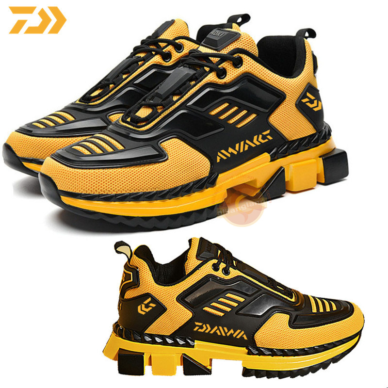 2020 Daiwa Spring Outdoor Hiking Fishing Shoes Men's Sports Shoes Breathable Non-slip Running Shoes Travel Shoes Fishing Shoes