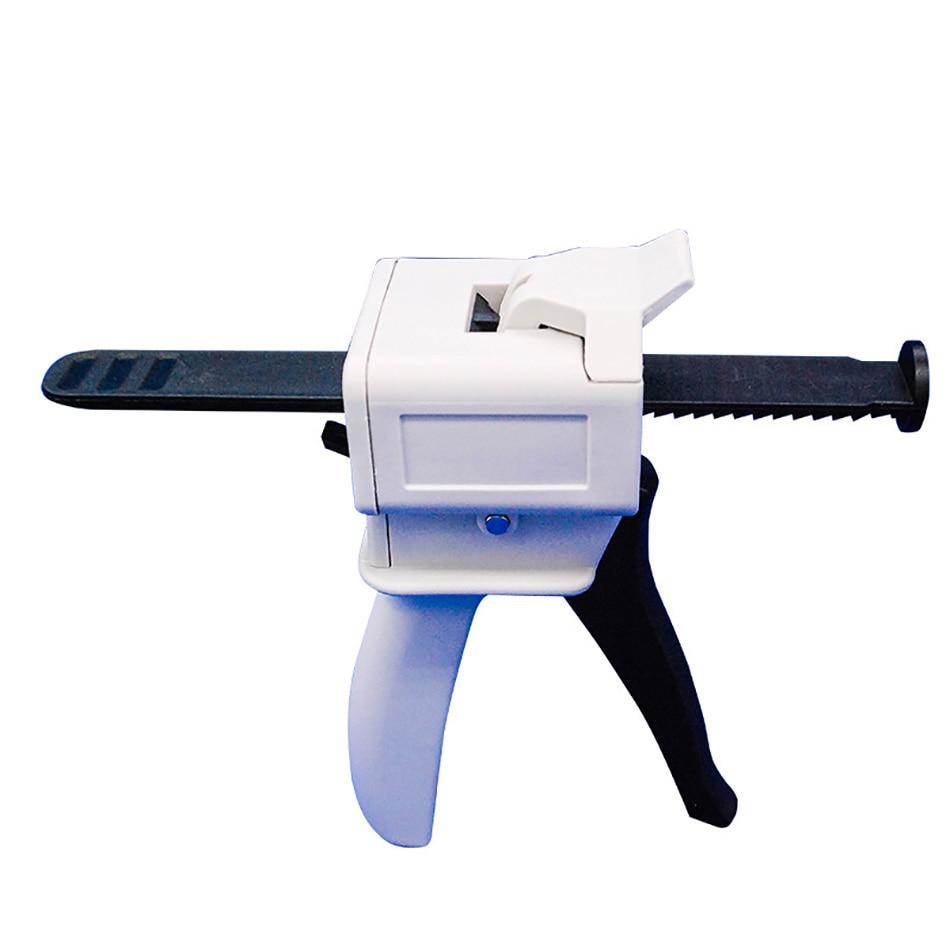 30ML,50ml Single Group AB Epoxy Sealant Glue Gun Applicator Glue Adhensive Squeeze Mixed 1:1 Manual Caulking Gun Dispenser
