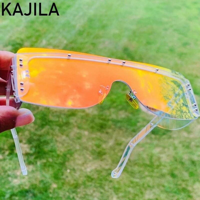 Square Rimless Sunglasses Women 2020 Luxury Brand Designer Traveling Vintage Sun Glasses For Men Shades Lentes De Sol Mujer|Women
