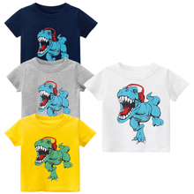 Summer Kids Cartoon T-shirts Children Kid Girl Shirt Vest Panties Boxers Baby Boy Tops For Boys Clothes Girls T-shirt 3-8 T 11 11 winter children cotton t shirts baby girls high neck bottoming shirt kids tops page 3