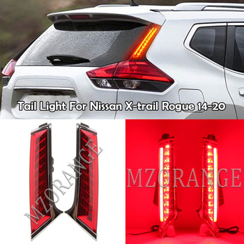 MZORANGE-luz trasera para Nissan Xtrail x-trail X trail Rogue 2014-2020, 2 uds.