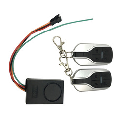 Scooter elétrico sistema de alarme remoto chave para 48v 52v 60v scooter elétrico e bicicleta kick scooter peças