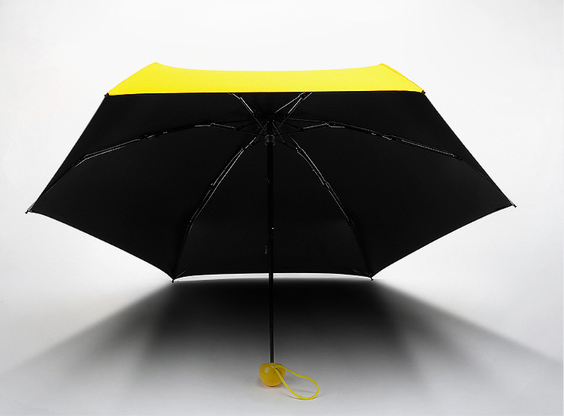 Мини-капсула зонтик пятискладной солнцезащитный анти-УФ UPF50+ Зонт parapluie складной женский Карманный Зонт для женщин