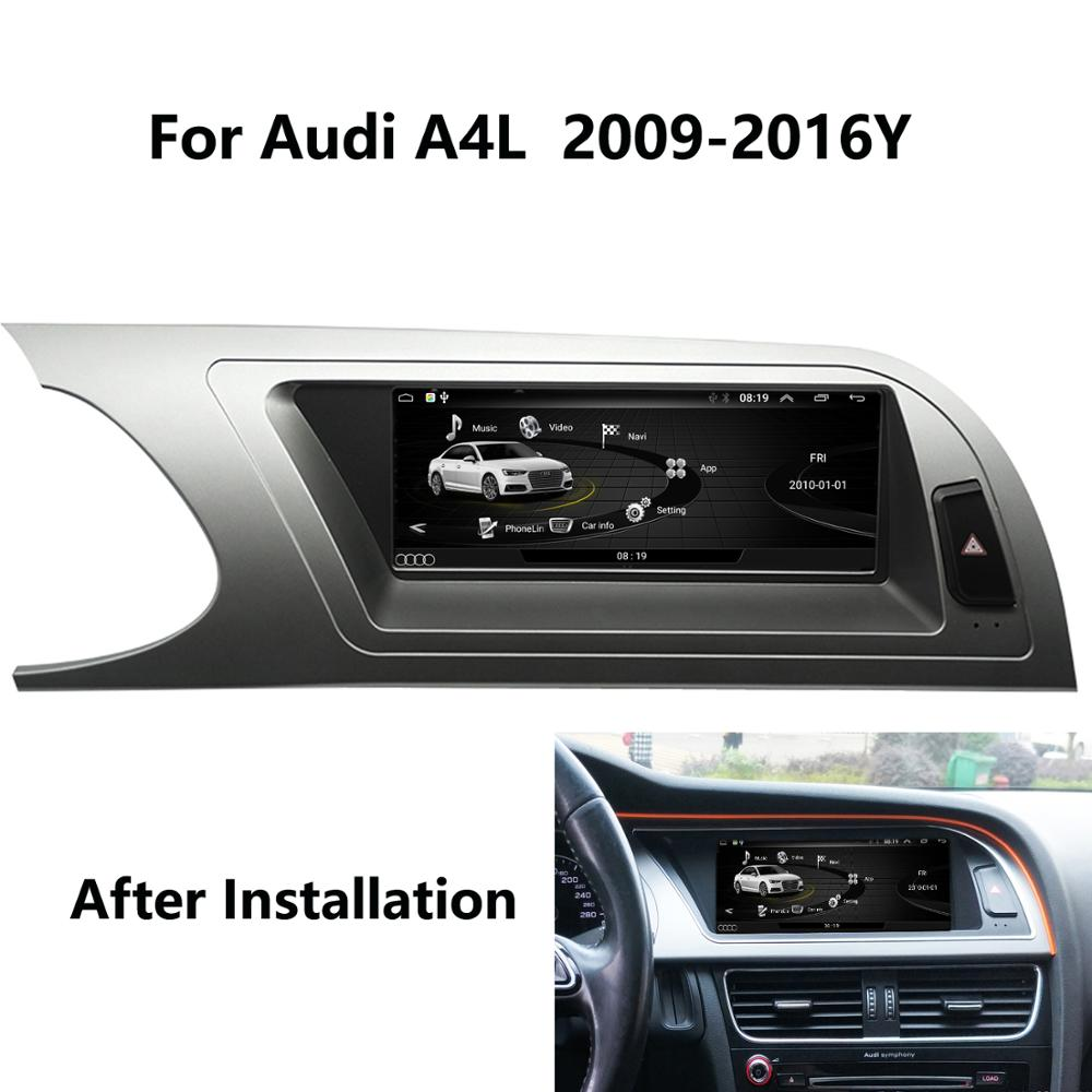 COIKA Dvd-Radio Mirror-Screen Android-8.1-System Carplay Wifi Music SWC Audi A4 2009