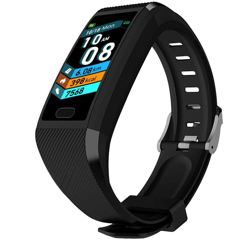 H2ca25a99e72d4af28c7631616e3777275 Fitness Bracelet Blood Pressure Measurement Waterproof Smart Band Bracelet Watch Fitness Tracker Heart Rate Activity Tracker