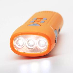 Image 4 - Youpin multi fonction main alarme lampe de poche automatique Radio lampe de poche Led type c Rechargeable en plein air outil de secours