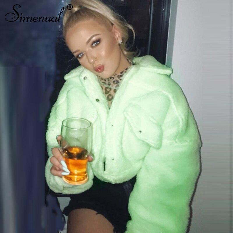 faux lambwool women jackets (1)