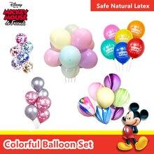 Воздушный шар Дисней для свадьбы, дня рождения, вечеринки для малышей, предложение, украшение для свадьбы, воздушный шар, 6 шт., 10 дюймов, дизайн макаруна