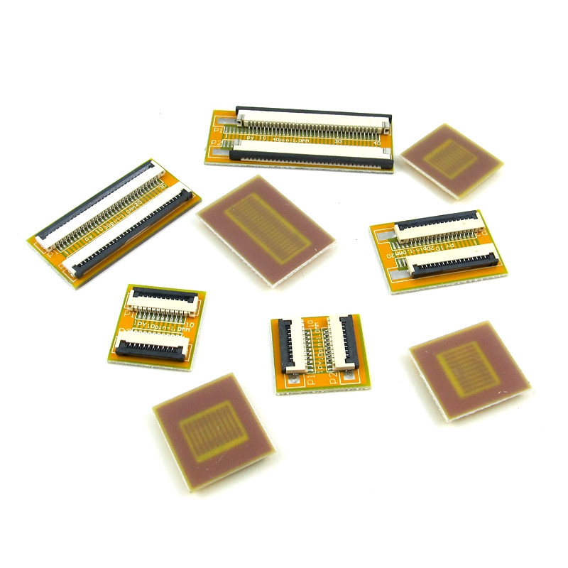 1 piece Flat Flexible <font><b>Cable</b></font> FFC FPC Jumper Extension PCB Flip Cover Pitch 1.0mm 4 6 8 10 <font><b>12</b></font> 14 16 20 24 30 <font><b>Pin</b></font> FPC Connector ZIF image