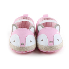 Cute Cartoon Fox Newborn Baby Boots Winter Warm Snow Boots Baby Shoes Hook amp Look Anti-slip Baby Boy Girl Shoes Wholesale cheap COTTON Hook Loop Fits true to size take your normal size Mid-Calf Unisex Flower Plush Flat with Round Toe Baby Girl Boy
