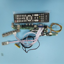 Kit para LP133WX2-TLC4 DIY CVBS 30pin USB LCD TV AV LED LVDS VGA HDMI 1280X800 Panel monitor 13,3 \