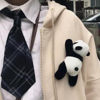 Cute Cartoon Plush Panda Brooch Pin Buckle Clothes Lapel Backpack Decor Gift Brooch Pin Buckle Clothes Lapel Backpack Decor Gift image