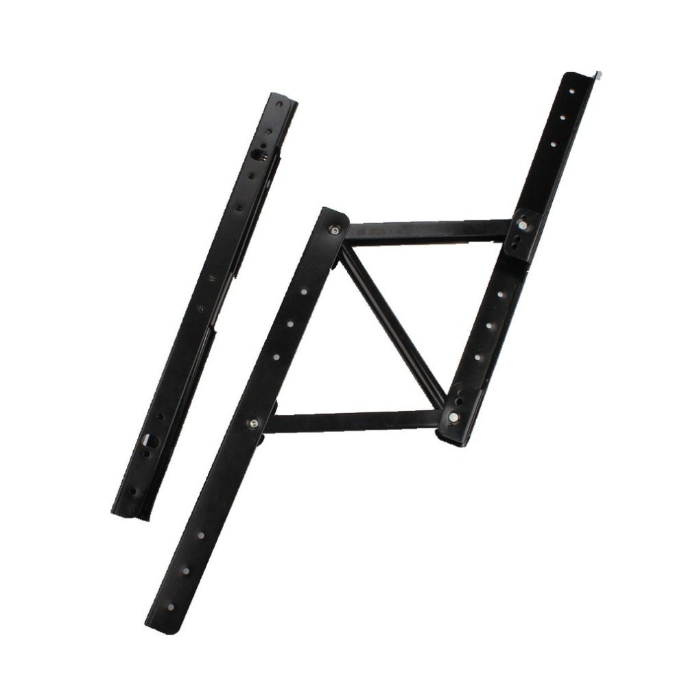 HOT Lift Up Top Coffee Table Lifting Frame Mechanism Hinge Hardware Accessories Fitting With Spring Folding Standing Desk Frame
