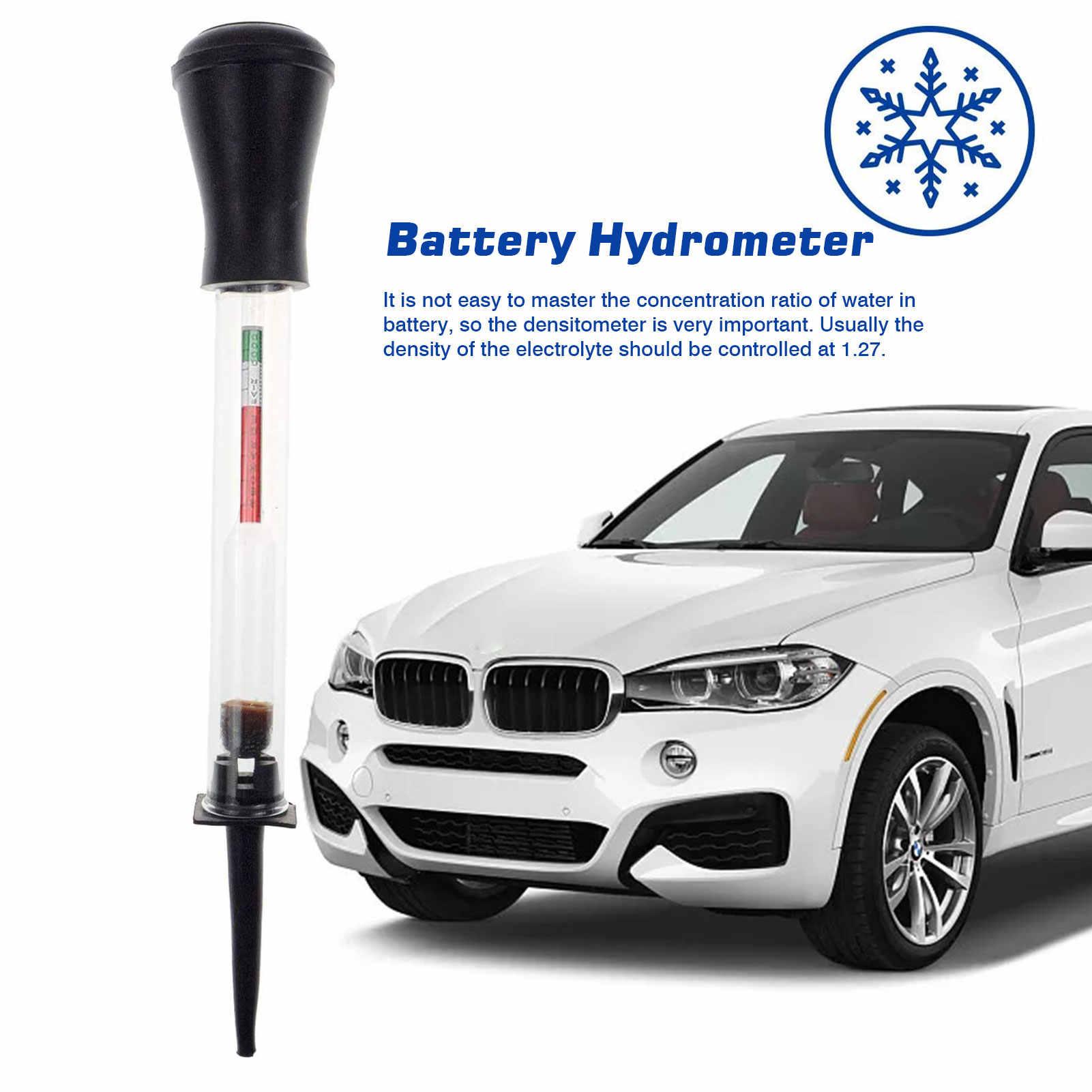 Battery Hydrometer,Auto repair 8-inch hydrometer Fast Dectection Electro-Hydraulic Density Meter Car Repairing Tools