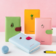 A6 Agenda Notebook Horizontal line Daily Journal Writing Memo Meeting Notepad School Student Stationery Office Supplies Gifts 1pcs random a6 96 sheets printed daily memo notepad creative hard copybook notebook greative office school tool supplies gift