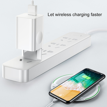 Зарядное устройство Baseus для телефона, белое 6