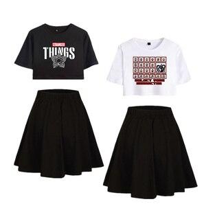 Image 1 - Strange Things T shirt, Cosplay T shirt, course à pied, Costume onze strange Things, robe de Sport